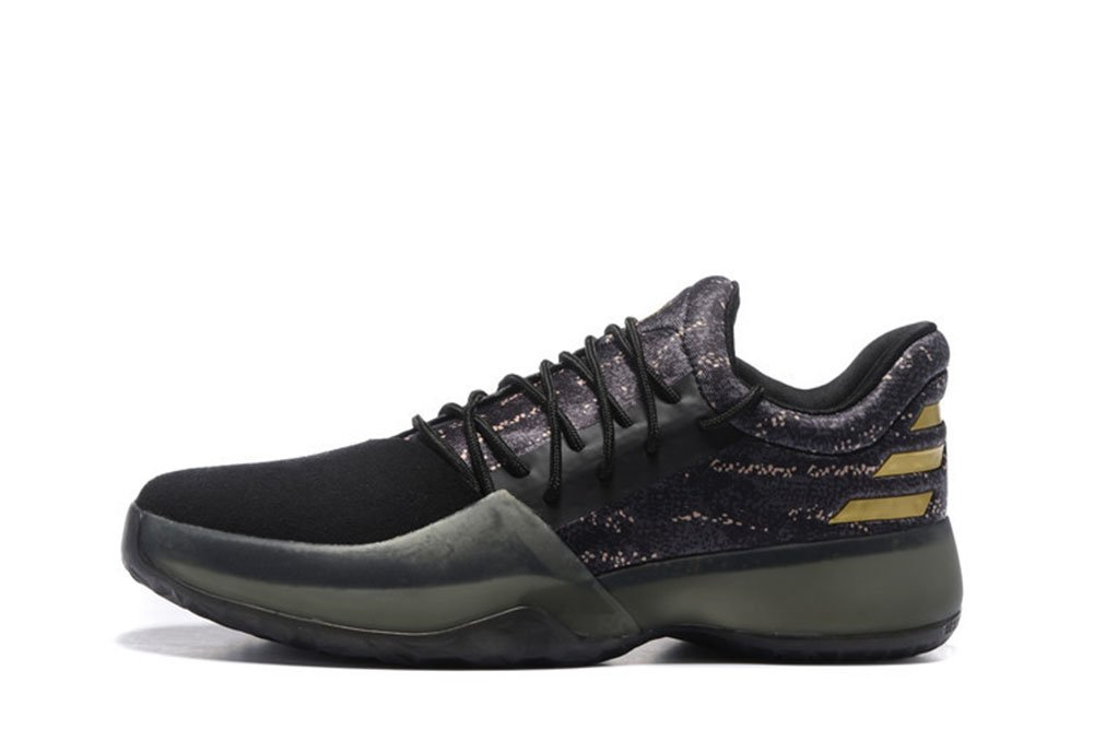 7d9623ba4ef9 Harden Vol. 1 Men  s Air Black Gold basketball shoes  Amazon.com  Books