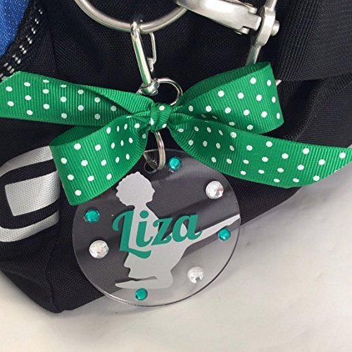 Irish Dancer Birdie Bag Tag Personalized with Your, used for sale  Delivered anywhere in USA