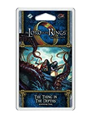Having finally caught the Stormcaller after a harrowing pursuit across troubled seas, several of Middle-earth's heroes prepare to board the Corsair ship in The Thing in the Depths, the second Adventure Pack in the Dream-chaser cycle for The L...
