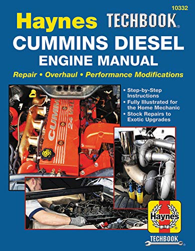 Cummins Diesel Engine Performance Techbook (Automotive Tech Series) best to buy