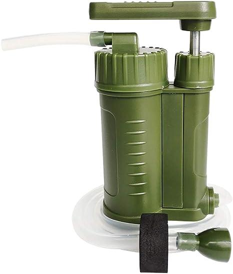 LONG-X Purificador de Agua Filtro de Agua Portátil Purificador ...