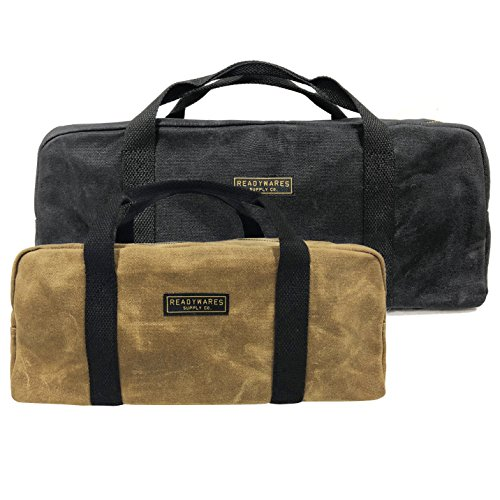 Readywares Waxed Canvas Utility Bag 2-Pack