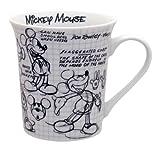 Disney Sketchbook Mickey Mug, Set of 4