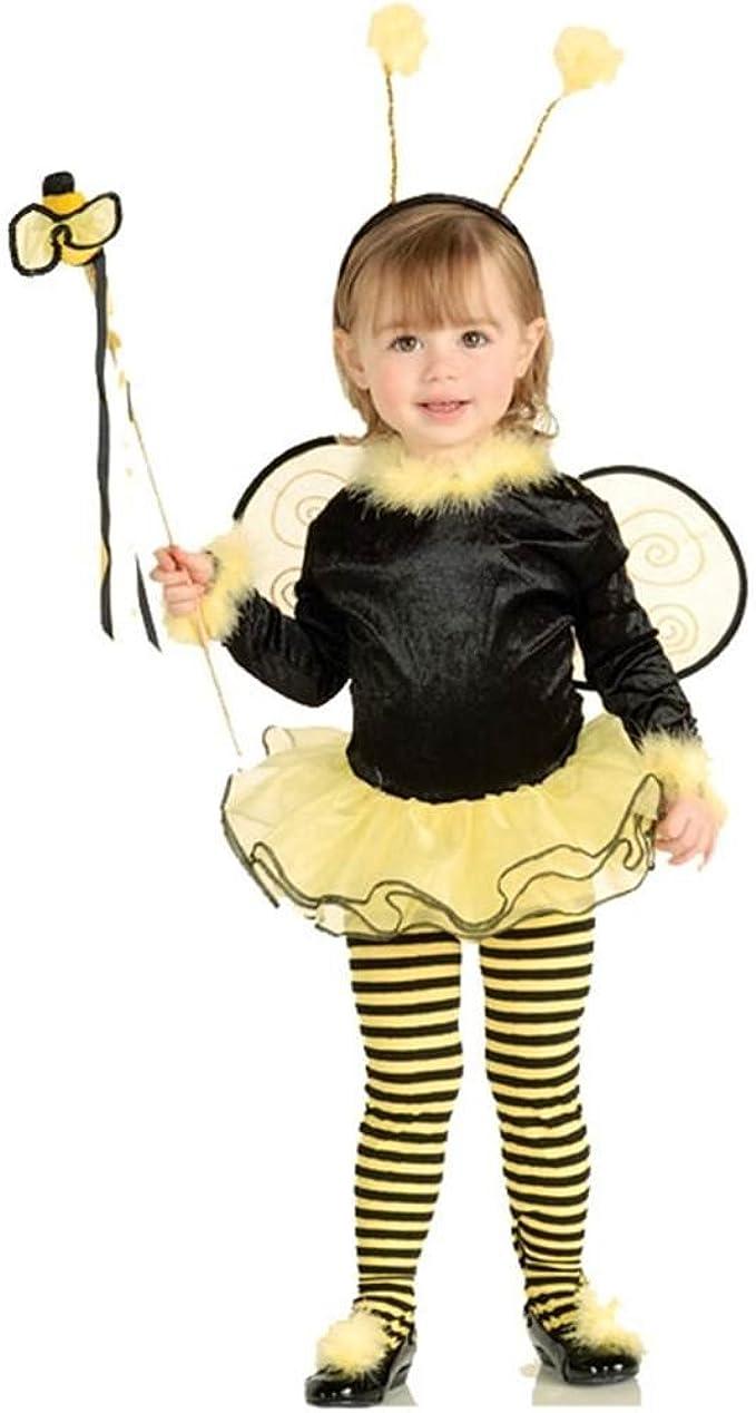 Desconocido Disfraz de abeja para niña: Amazon.es: Ropa y accesorios