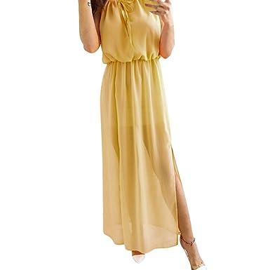l'ultimo 496ac fb024 Weant Abito Donna Eleganti da Cerimonia, Abito Vestito Donna ...