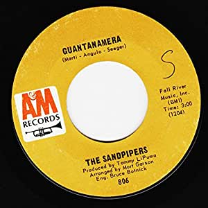 The Sandpipers Guantanamera What Makes You Dream