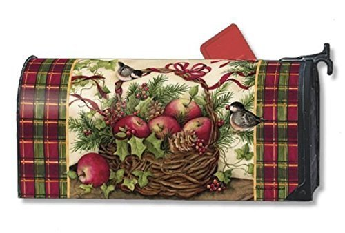 MailWraps Winter Basket Mailbox Cover #05001 by Magnetworks