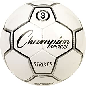 Champion Sports Striker Size 3 Match Play Soccer Ball