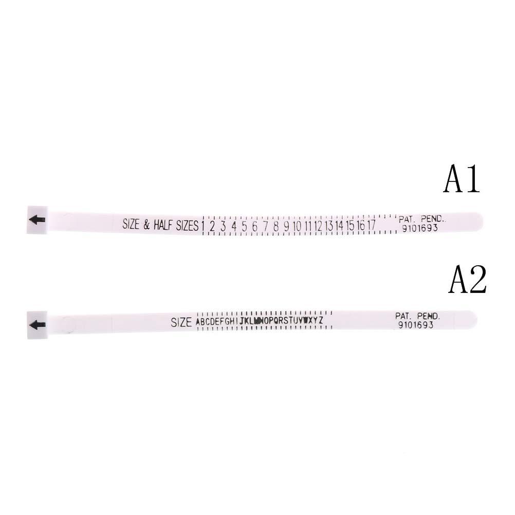 Misuratore per anelli misura anelli americani Terrarum A1.