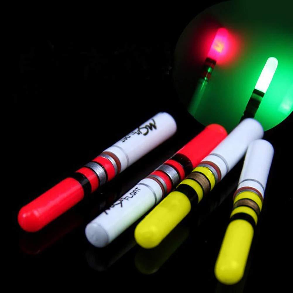 pengyu LED Fishing Luminous Night Light Stick Float Fluorescent Bright Color Accessory