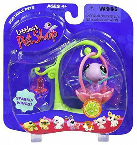 Littlest Pet Shop Pet Pairs Figures Dragonfly with Swing ()