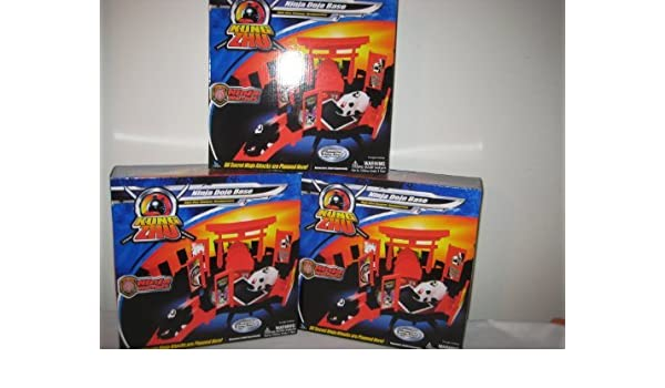 Amazon.com: Kung Zhu Ninja Do Jo Base (3 Pack): Toys & Games