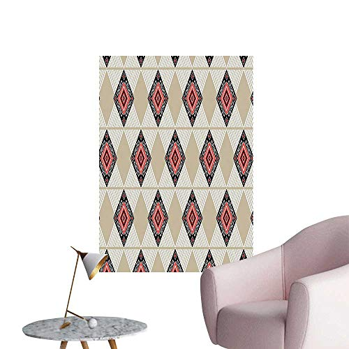 (Vinyl Wall Stickers Pattern in Regular Symmetrical Lin and Diag al Shap Print Perfectly Decorated,28