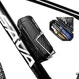 JOSPOWER Bike Repair Tool Capsule – Cycling Tool Bottle Zip Bag for MTB Road Bike Hybrid Bike Riding Bicycle Accessories
