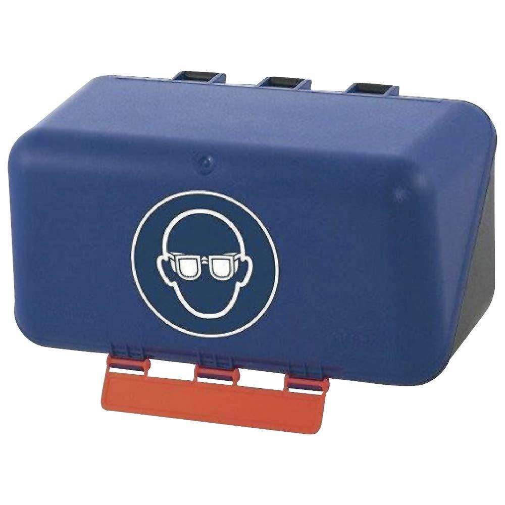 f/ür B/ügelbrillen Gebra Aufbewahrungsbox SECU Mini Standard blau