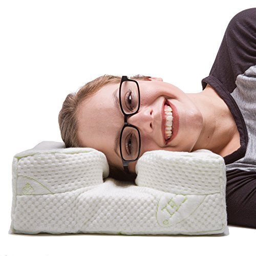 The LaySee Pillow - The Pillow Designed with Your Glasses in Mind