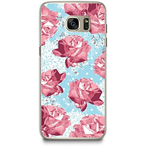 Case for Samsung S7, CasesByLorraine Vintage Floral Rose Pattern Case Plastic Hard Cover for Samsung Galaxy S7 (N53-1) Sales
