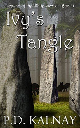 The front cover of Ivy's Tangle