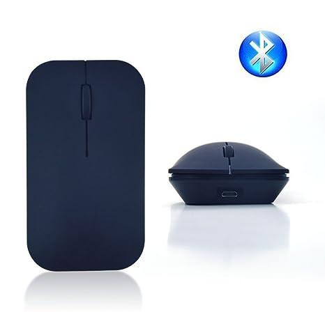 Ratón Bluetooth, EONANT 3.0 Ratón Portátil con Ratón USB Inalámbrico Recargable Silencio y Silencioso Haga