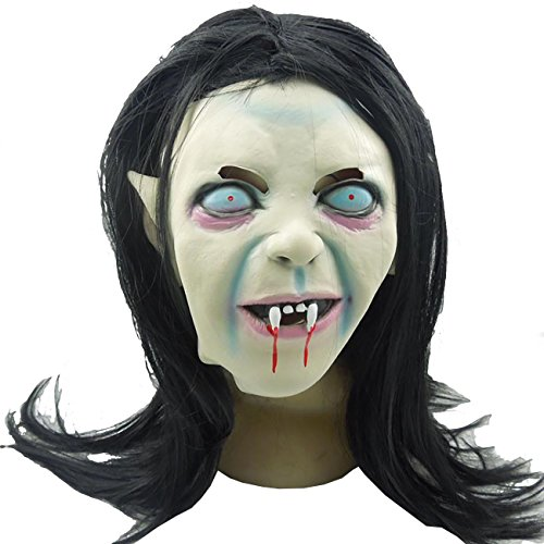 ShiyiUP Scary Latex Mask for Halloween Party Cosplay Custume