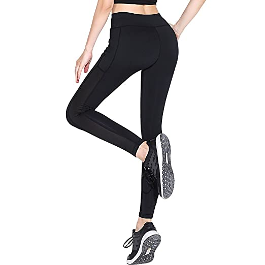 8fb49324739ec YOKJOY Yoga Pants for Women, High Waist, Out Pocket, Tummy Control, Ultra
