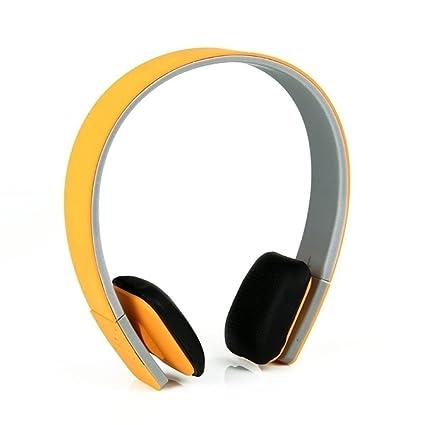 lennonsi Auriculares inalámbricos Bluetooth Bluetooth 4.1 auriculares estéreo Auriculares Bluetooth con micrófono manos libres para TV