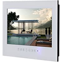 Soulaca 15.6inch Frameless Waterproof and Dustproof TV for Bathroom Use T156FN