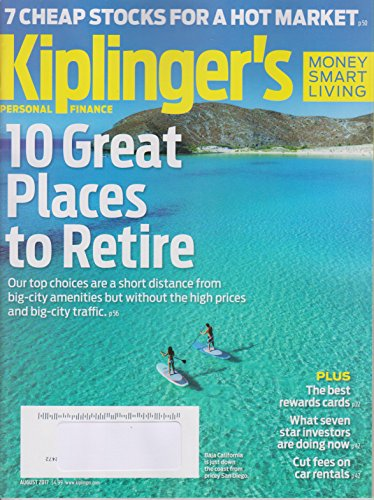 Kiplinger's Personal Finance August 2017 10 Great Places to Retire