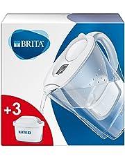 BRITA Marella Maxtra Filtr Do Wody z 3 Wkładami MAXTRA+, Pakiet Startowy, Biały, 2.4 l