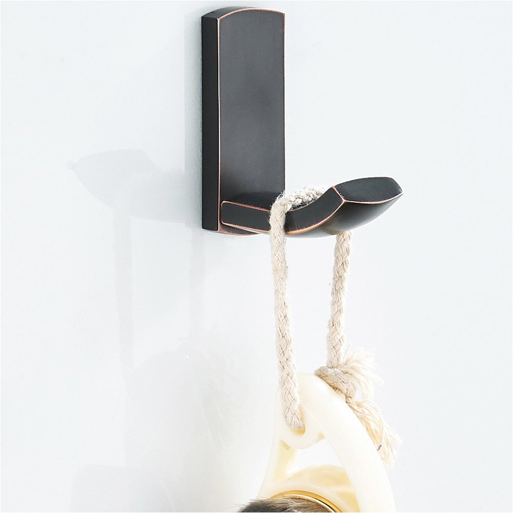Amazon.com: BLISSPORTE - Gancho de pared para baño (bronce y ...