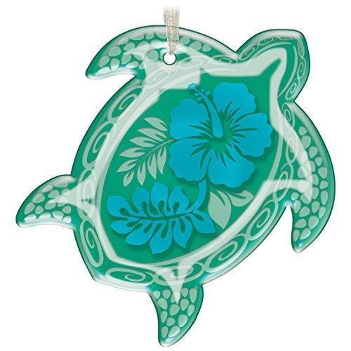 (Hallmark Honu Glass Green Sea Turtle Ornament)
