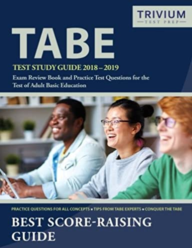 tabe test study guide 2018 2019 exam review book and practice test rh amazon com tabe test study guide 2017 tabe test study guide math