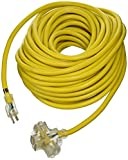 ATE Pro. USA 70050 Extension Cord, 100', 10 Gauge, 3-Prong