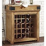 Crosley Furniture Roots Bistro Wine Island Kitchen Storage - Best Reviews Guide