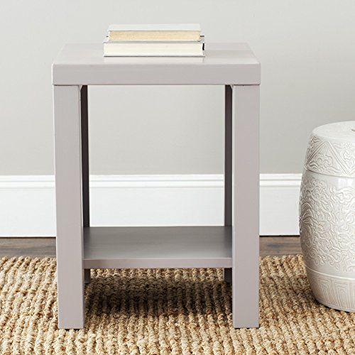 Safavieh American Homes Collection Lahoma Grey End Table