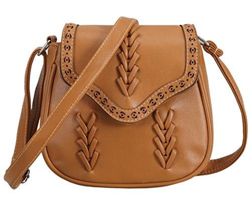 Panda Kelly PU Leather shoulder bag small Vintage Crossbody Bag Handbag for Women and Girls
