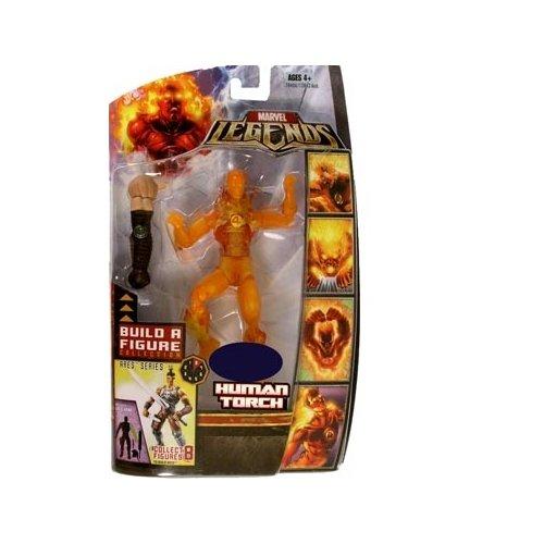 Marvel Legends Exclusive Ares BuildAFigure Wave Action Figure Human Torch