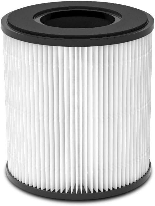 DIKI purificador de aire Filtro de repuesto para, filtro HEPA genuino, filtro de carbón activado de alta eficiencia: Amazon.es: Hogar