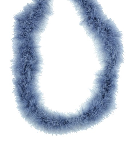 Touch of Nature 37909 Fluffy Boa, Gray (Fluffy Marabou Feathers)