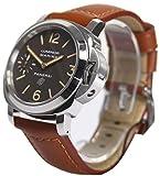 Image of Panerai LUMINOR MARINA LOGO ACCIAIO - 44MM Men's watch PAM00632