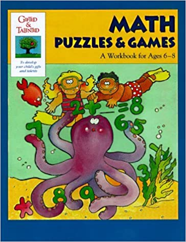 Book Math Puzzles & Games (Gifted & Talented) by Martha Cheney (1998-03-02)