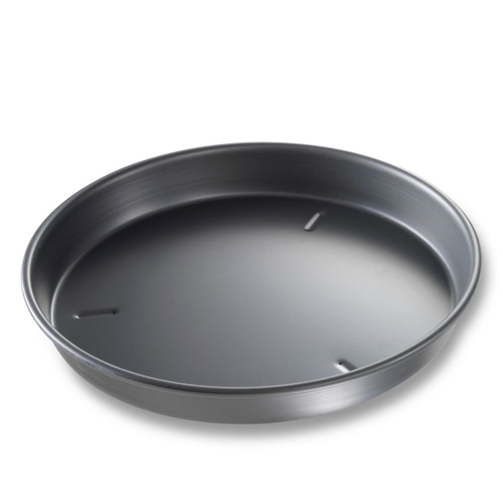 Bundy Chicago Metallic Deep Dish Pizza Pan, Bakalon, 12 Dia.