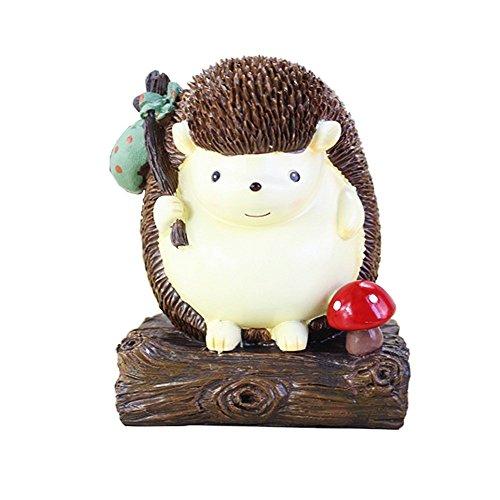 "Cute Hedgehog Money Box Money Jar Money Box Piggy Bank Coin Bank , Creative Birthday Gift Desktop Decoration Crafts (Stump 5.12"" 4.33"" ()"