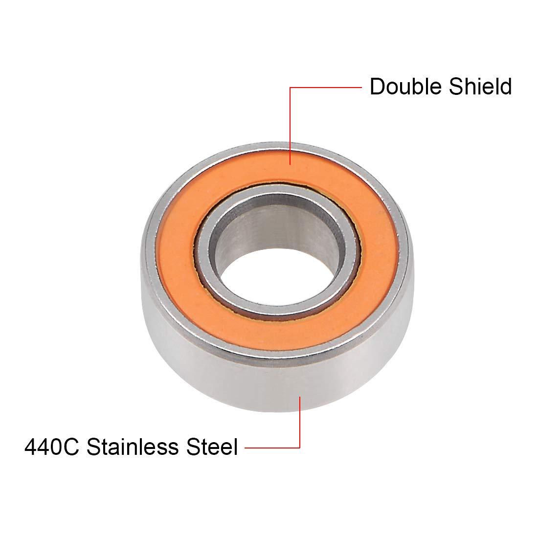 5x11x3 mm SMR115-2RS Width 3mm QTY 1 Hybrid Ceramic Ball Bearing ABEC-7