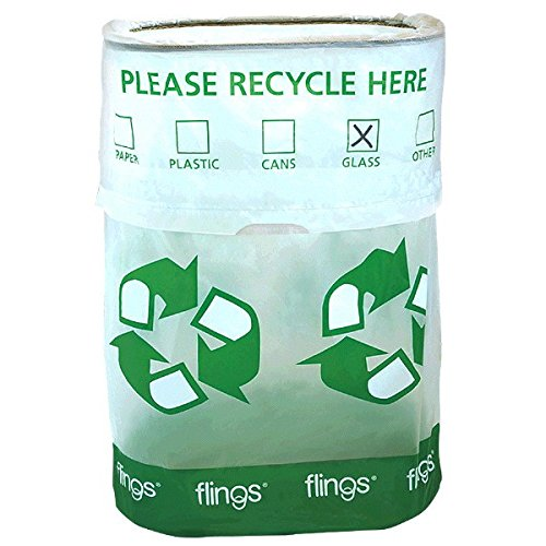 amscan Recycle Flings Pop-Up Trash Bin (Boxes Recycle Cardboard)