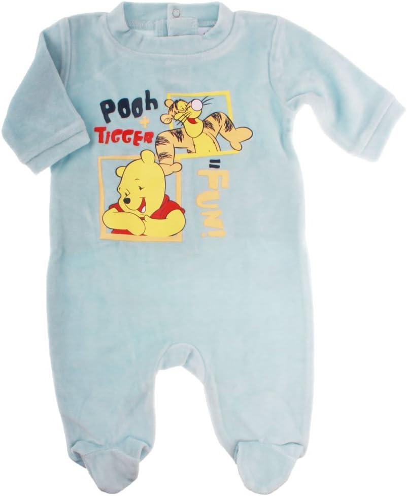 Pyjama bébé Pooh+Tigger=fun Winnie lourson et Tigrou Bleu ...
