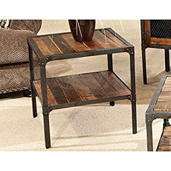 Emerald Home T4791 Laramie End Table, Brown