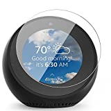 IVSO Amazon Echo Spot Screen Protector,[Scratch-Resistant] [No-Bubble] 9H Hardness HD clear Tempered Glass for Amazon Echo Spot (2pcs)