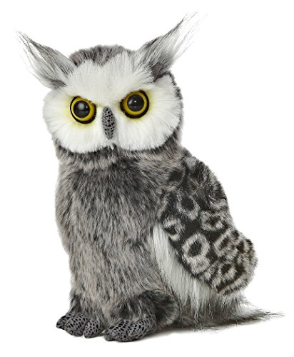 "Aurora World 9""  Barney the Plush Great Horned Owl"