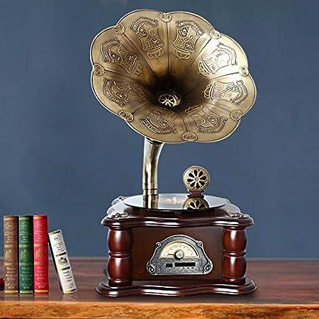 GFEI Antigua maquina tocadiscos vinilo adornos / Sound Big ...